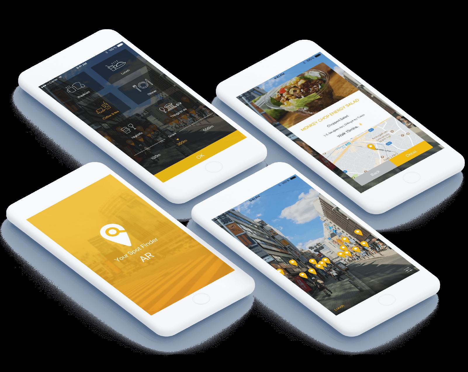 App Design, UI/UX